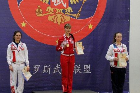 Приморская спортсменка взяла «золото» чемпионата России по ушу