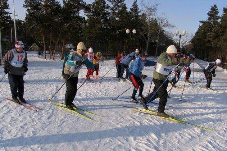 В Арсеньеве прошли традиционные дальневосточные соревнования среди ветеранов лыжного спорта