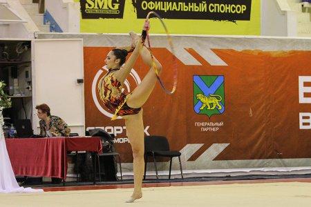 В Приморье прошел краевой чемпионат по художественной гимнастике