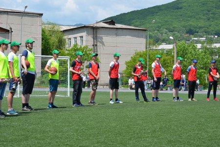 Новый двухуровневый стадион открыли в 6-й школе Партизанска