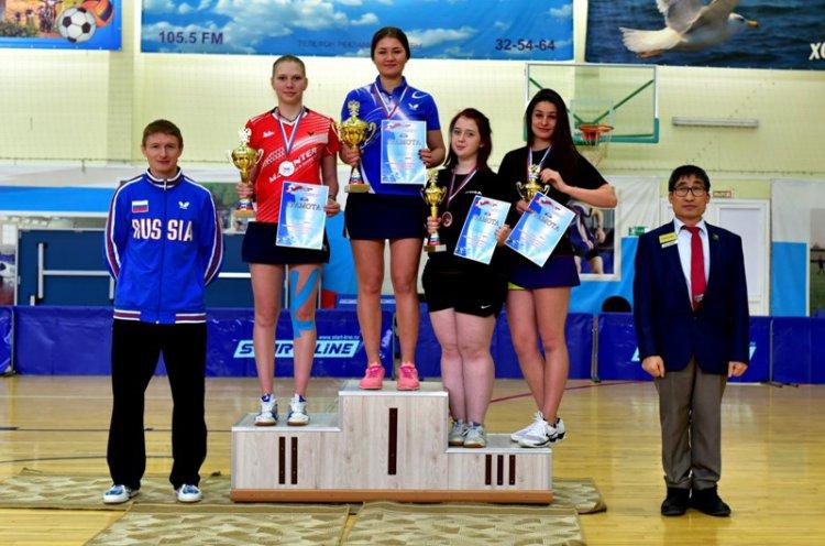 Чемпионат Дальнего Востока по настольному теннису прошел в Уссурийске