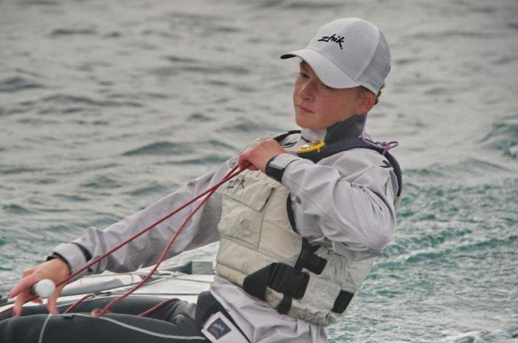 Мария Кислухина готовится к Первенству Европы по парусному спорту