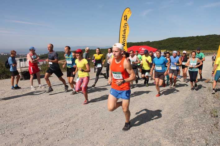 Приморские спортсмены вышли на старт краевых соревнований по горному бегу