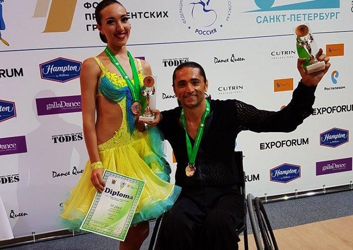 Приморцы заняли третье место на международном «Кубке континентов» по спортивным танцам на колясках