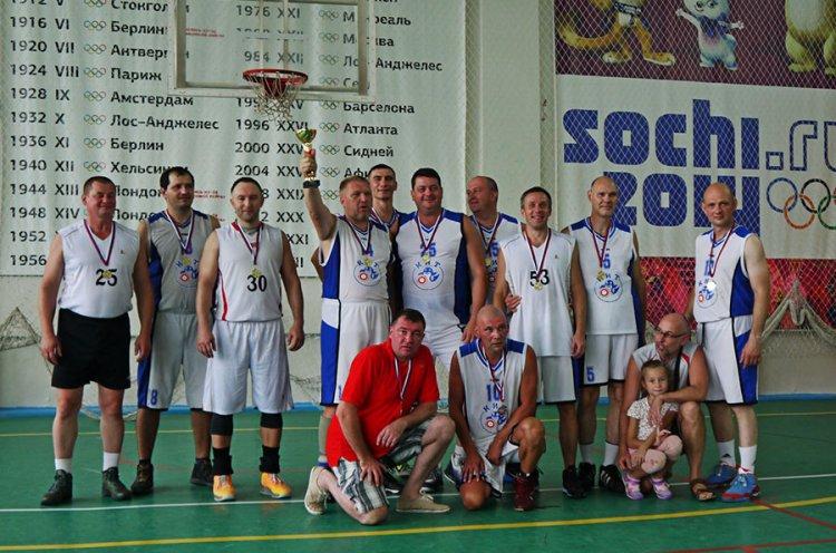 Команда КИТ – победитель Первенства Приморья по баскетболу среди ветеранов