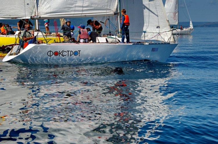 «Кубок юнг» разыграли юные яхтсмены Приморья