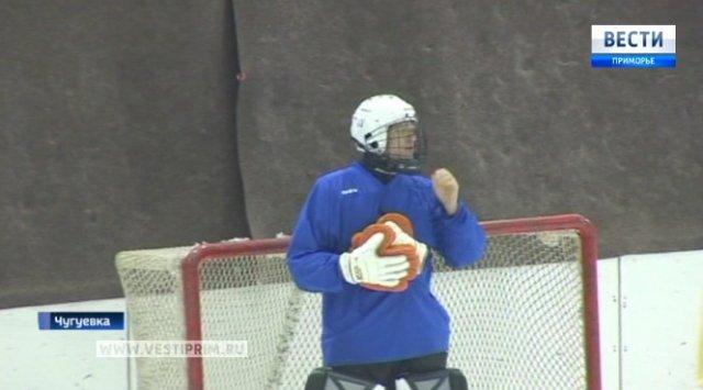 Арсеньевский «Восток» завоевал первые очки в первенстве России по хоккею с мячом