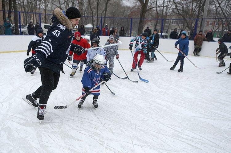 «Адмирал» провел во Владивостоке мастер-класс для юных хоккеистов