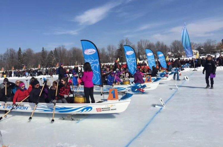 Приморские гребцы завоевали золотые медали на первом Чемпионате мира по гребле на лодках «дракон» по льду