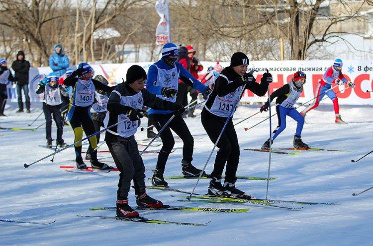 Приморцев приглашают принять участие во Всероссийской гонке «Лыжня России-2018»