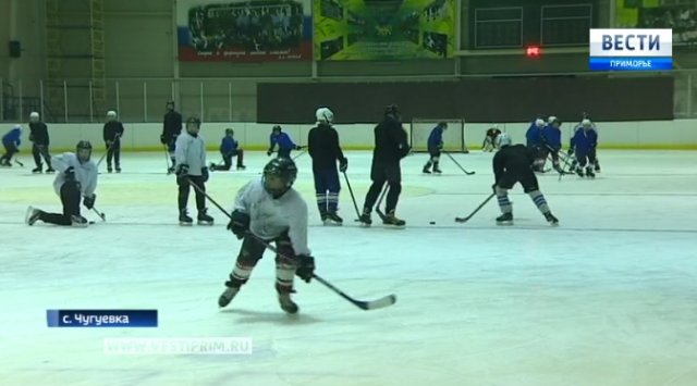 Юные хоккеисты команды «Восток» готовятся ко всероссийскому турниру «Золотая шайба»