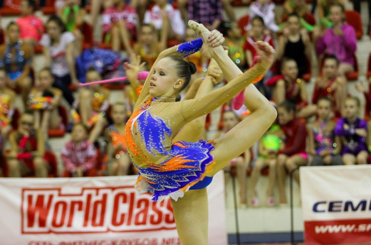 Чемпионат Приморья по художественной гимнастике прошел во Владивостоке