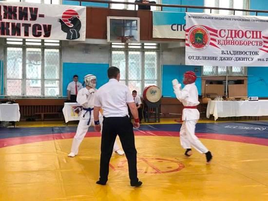 Сборная Владивостока заняла первое командное место на чемпионате Приморского края по джиу-джитсу