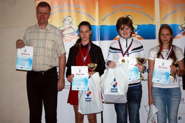 Приморская шахматистка завоевала медаль на Первенстве России