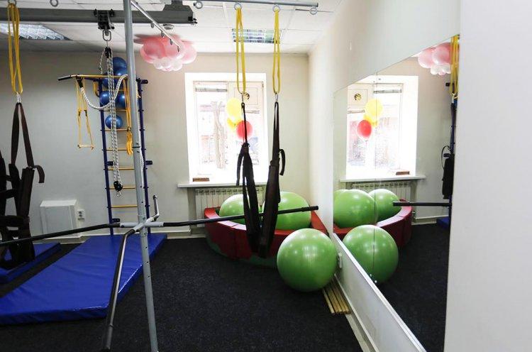 Новый спортзал для детей с ограниченными возможностями открыли в Находке