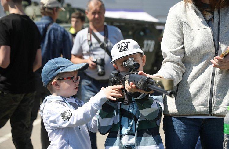 Более 500 человек посетили площадку ГТО на военно-патриотическом фестивале «Найди себя»