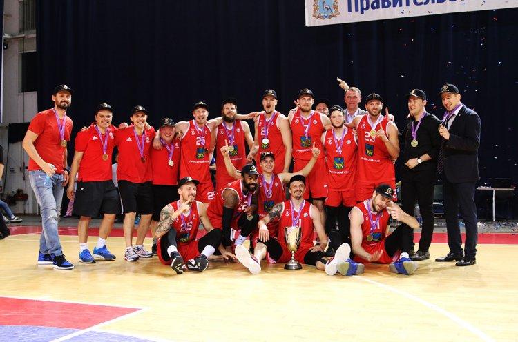 «Спартак-Приморье» в третий раз стал чемпионом Суперлиги!
