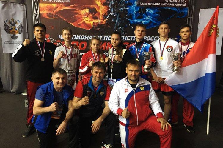Приморские кикбоксеры завоевали семь медалей на Первенстве России