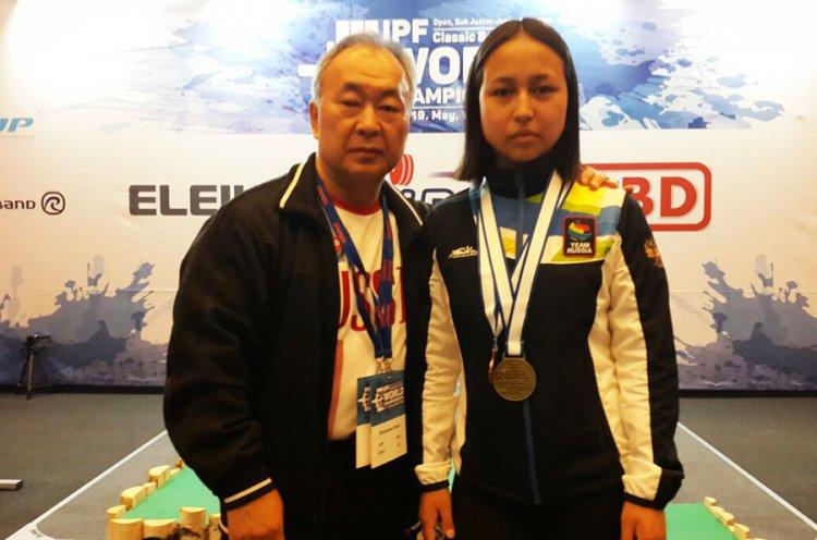 Приморская спортсменка стала бронзовым призером Первенства мира по жиму штанги
