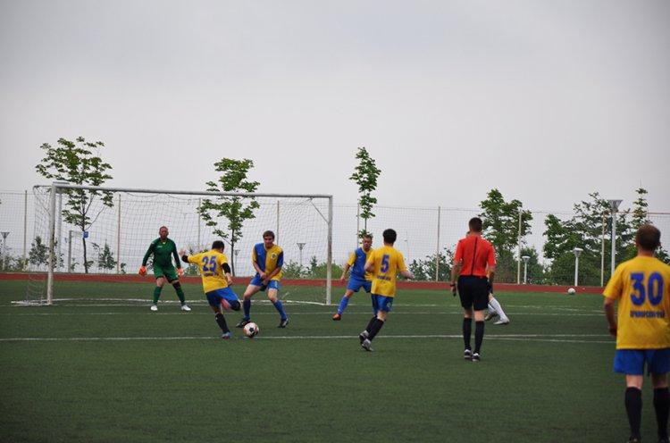 Сборная журналистов впервые выиграла команду АПК в футбольном матче