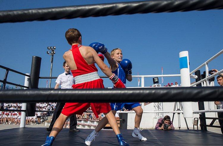 Международный день бокса впервые отпраздновали в Приморье
