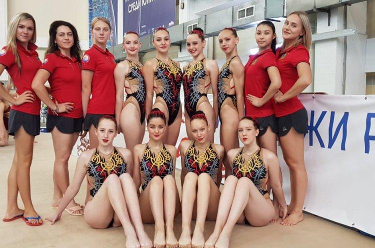 Приморские синхронистки выступили на финале Спартакиады молодежи России