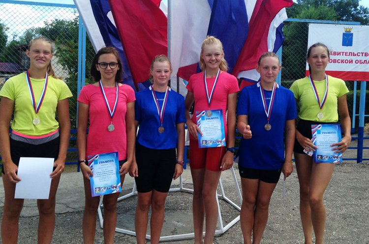 Юные приморские гребцы завоевали 14 медалей на всероссийских стартах