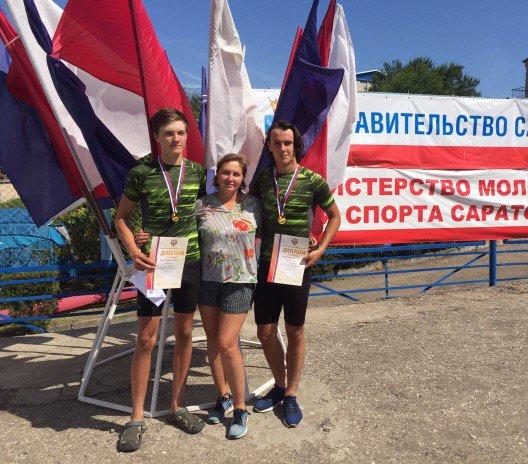 Юные приморские гребцы выиграли две золотые медали на Первенстве России