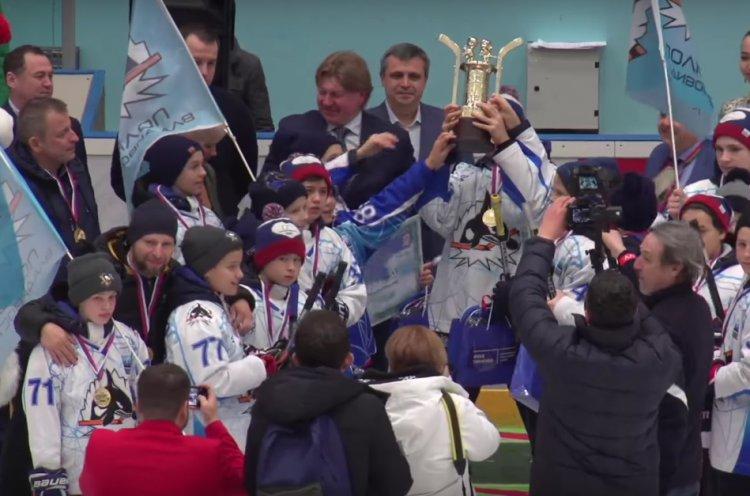 Владивостокская команда «Полюс-2006» одержала победу во всероссийском турнире по хоккею «Добрый лед»