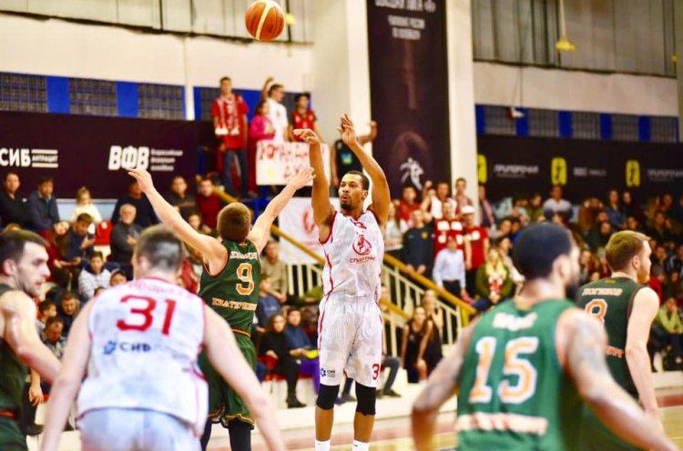 «Спартак-Приморье» одержал третью победу подряд