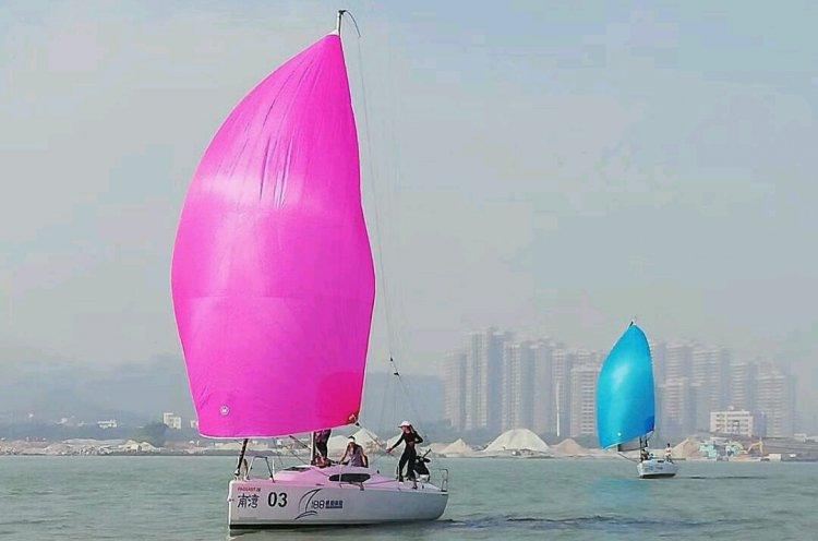 Приморский женский экипаж занял четвертое место в международной регате