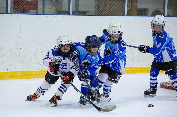 Самые юные хоккеисты Приморья провели календарные матчи Первенства ЮХЛ
