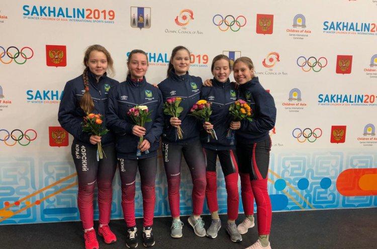 Приморские спортсменки взяли «бронзу» по шорт-треку на международных играх «Дети Азии»