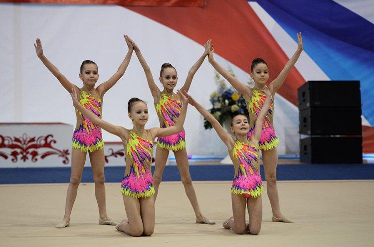 Приморские спортсменки завоевали золотые и серебряные медали на Всероссийских соревнованиях по художественной гимнастике