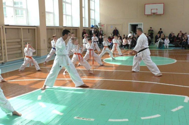 Академия Киокусинкай Дальнереченска провела очередную аттестацию среди своих воспитанников
