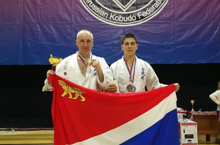 Приморские спортсмены завоевали медали на Всероссийском турнире по кобудо