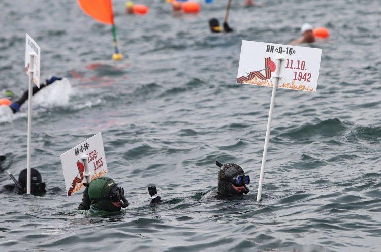 Международный Победный заплыв прошел во Владивостоке