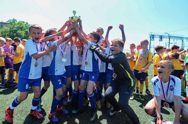 Юные футболисты из Находки стали победителями краевого этапа «Локобола»