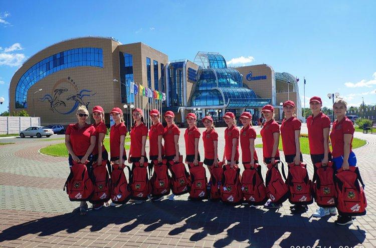 Приморские синхронистки вошли в десятку сильнейших на Спартакиаде учащихся России
