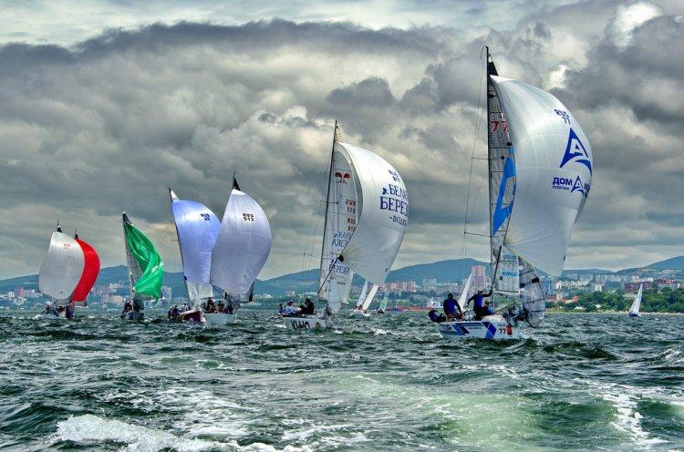 Парусный фестиваль Кубок «Семь футов» собрал более 700 спортсменов