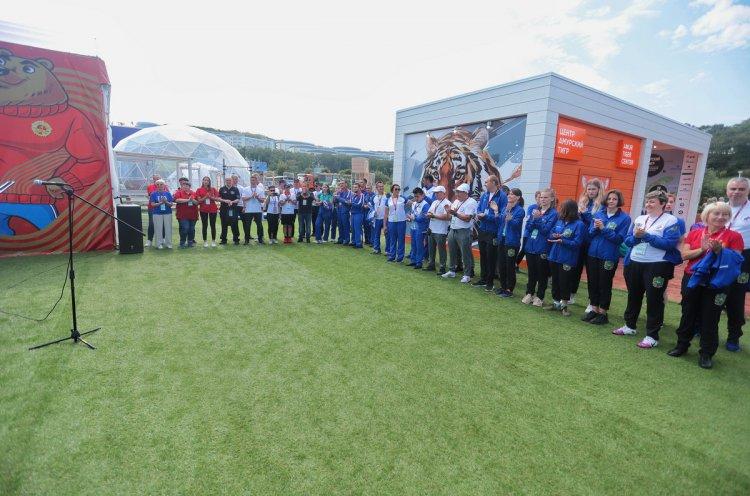 Более 500 человек гостей и жителей Приморья побывали на площадке ГТО в рамках ВЭФ