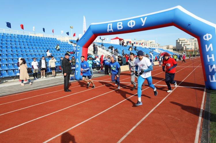 500 тысяч метров пробежали участники масштабной эстафеты «Бег IN»