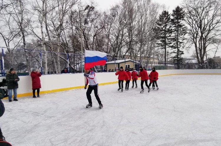 Сразу шесть хоккейных коробок открыли в муниципалитетах Приморья по нацпроекту «Демография»
