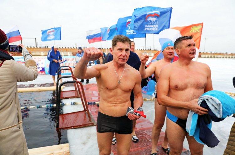 Приморье дало старт всероссийской акции «Закаленная Россия – здоровая страна»