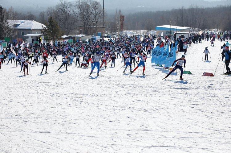 Более 2000 человек вышли на «Лыжню России» в Приморье