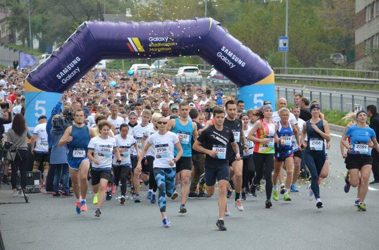 Более тысячи поклонников бега зарегистрировались на пятый Galaxy Vladivostok Marathon