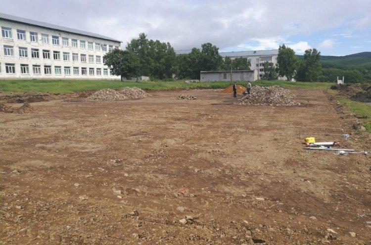 Новые спортивные площадки построят в северных поселках Приморья по нацпроекту