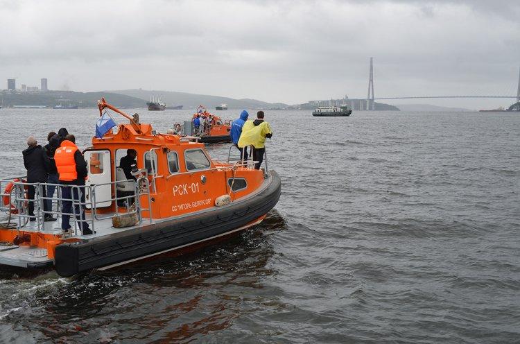 Пловцы-экстремалы проплывут 160 километров по заливу Петра Великого