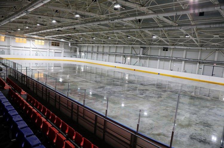 Современная ледовая арена готовится к открытию в Уссурийске