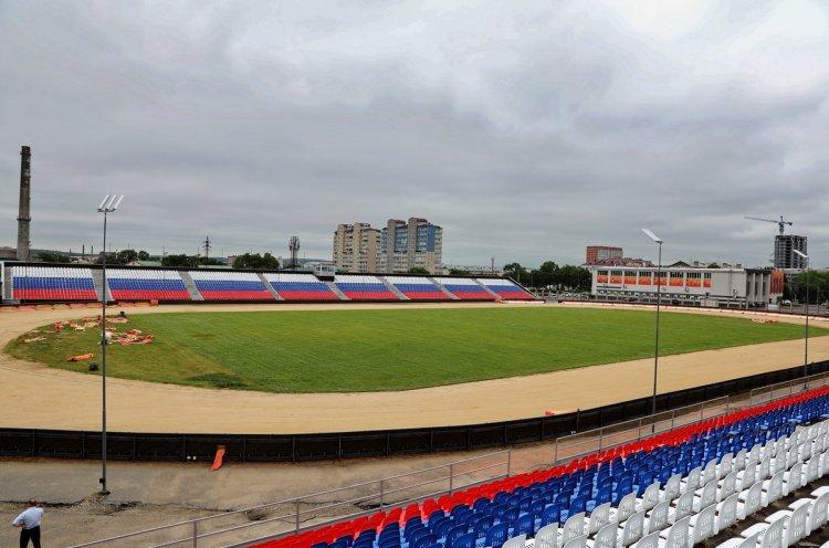 Уссурийский стадион «Патриот» готовят к гонкам чемпионата России по спидвею